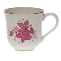 Chinese Bouquet Raspberry Mug  (10 Oz) 3.5