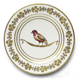 Or Des Airs Buffet Plate #2 11.5 in Round | Gracious Style