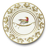 Or Des Airs Buffet Plate #3 11.5 in Round | Gracious Style