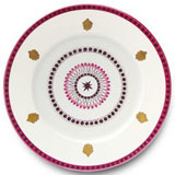 Agra Rose Dinner Plate 10.25 in Round | Gracious Style