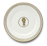 Or Des Airs/Mers Dinner Plate #2 10.25 in Round | Gracious Style