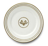 Or Des Airs/Mers Dinner Plate #3 10.25 in Round | Gracious Style