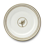 Or Des Airs/Mers Dinner Plate #4 10.25 in Round | Gracious Style