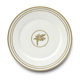 Or Des Airs/Mers Dinner Plate #6 10.25 in Round | Gracious Style
