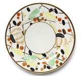 Renouveau Russe Dinner Plate 10.25 in Round | Gracious Style