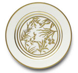 Or Des Airs/Mers Dessert Plate 8.25 in Round | Gracious Style