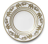 Or Des Airs/Mers Soup Plate 8.5 in Round | Gracious Style