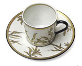 Or Des Airs Coffee Cup & Saucer | Gracious Style