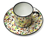 Renouveau Russe Coffee Cup & Saucer | Gracious Style