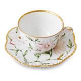 Magnolia Tea Cup & Saucer | Gracious Style