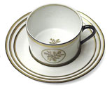 Or Des Airs Tea Cup & Saucer | Gracious Style