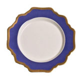 Anna's Palette Indigo Blue Bread and Butter Plate 6.5 in Round | Gracious Style