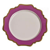 Anna's Palette Purple Orchid Dinner Plate 10.5 in Round | Gracious Style