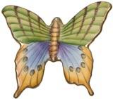 Flights of Fancy Butterfly # 9 2.25 in x 2.5 in | Gracious Style