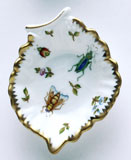 Spring in Budapest Dragonfly Leaf Ring Dish 5 in | Gracious Style