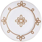 Brandebourg Matte Gold Underplate 31 Cm (Special Order) | Gracious Style