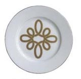 Brandebourg Matte Gold Salad Plate 19 Cm (Special Order) | Gracious Style