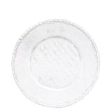Bellezza White Service Plate/Charger | Gracious Style