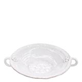 Bellezza White Large Handled Serving Bowl | Gracious Style