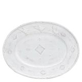 Bellezza White Large Oval Platter | Gracious Style