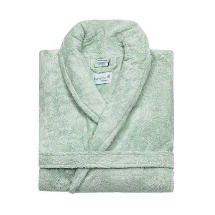 bamboo rain bathrobe gracious style - Kassatex