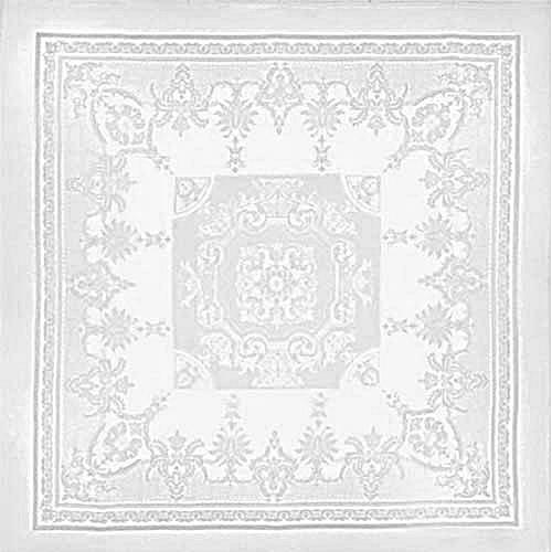 Beauregard White Tablecloth 75