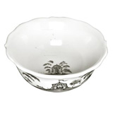 Country Estate Flint Cereal/Ice Cream Bowl Hen House | Gracious Style