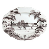 Country Estate Flint 15 in Serving Platter Stable | Gracious Style