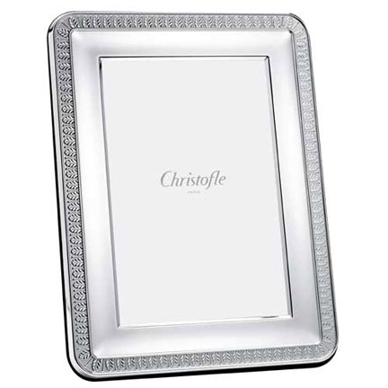 Christofle Malmaison Silverplated Picture Frames | Gracious Style