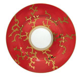 Cristobal Coral Dessert Plate 8.75 in Round | Gracious Style