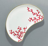 Cristobal Coral Pickle Dish 8.25 in x 5.75 in | Gracious Style