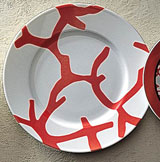 Cristobal Coral Chop Plate | Gracious Style