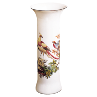 Chelsea Bird Trumpet Vase A 11 In | Gracious Style