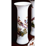 Chelsea Bird Trumpet Vase B 11 In | Gracious Style