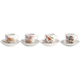 Chelsea Bird Tea Cup & Saucer (Set Of 4)  | Gracious Style