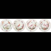 Chelsea Bird Rim Soup, Set Of Four | Gracious Style