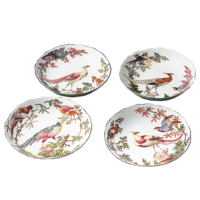 Chelsea Bird Cereal Bowl (Set Of 4) 7 In | Gracious Style
