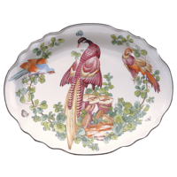 Chelsea Bird Oval Dish 9 X 11.5 In | Gracious Style