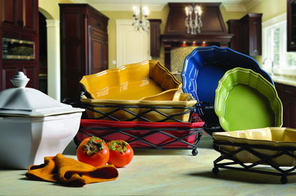 Colorful Oven To Table Bakeware Gracious Style Blog