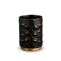 Crocodile Pencil Cup 3 in x 2 in | Gracious Style