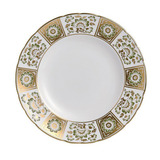 Derby Panel Green Dinner Plate 10 in Round | Gracious Style