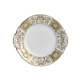 Derby Panel Green Bread and Butter Plate 6 in Round | Gracious Style