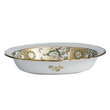 Derby Panel Green Open Vegetable Dish 8 in Round | Gracious Style