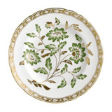 Derby Panel Green Accent Plate 8 in Round | Gracious Style