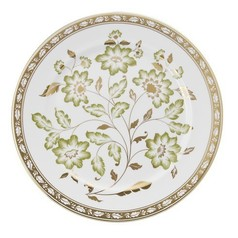 Derby Panel Green Service Plate | Gracious Style