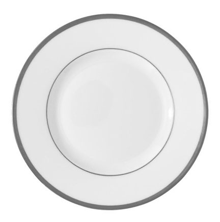 Fontainebleau Platinum Bread and Butter Plate 6.25 in Round  sc 1 st  Gracious Style & Raynaud Fontainebleau Platinum Dinnerware | Gracious Style
