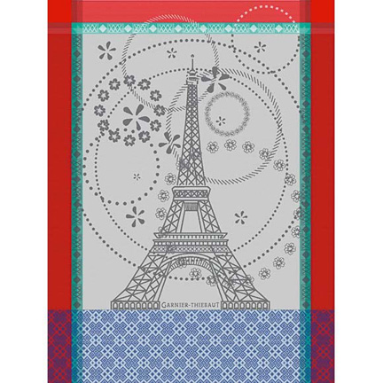 Garnier-Thiebaut Tour Eiffel Kitchen Towel