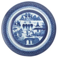 Blue Canton Dinner Plate | Gracious Style