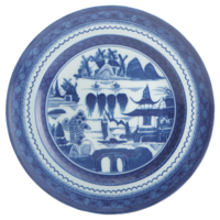 Blue Canton Dessert Plate | Gracious Style