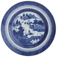 Blue Canton Bread&Butter Plate | Gracious Style
